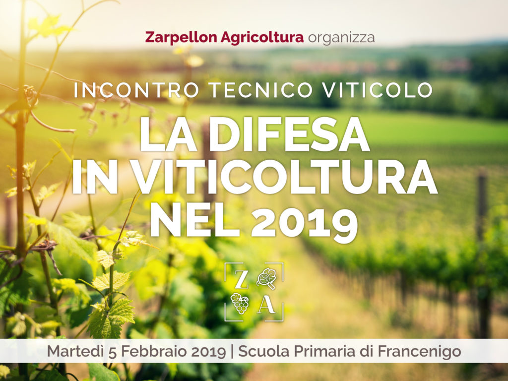 2019 la difesa in viticoltura